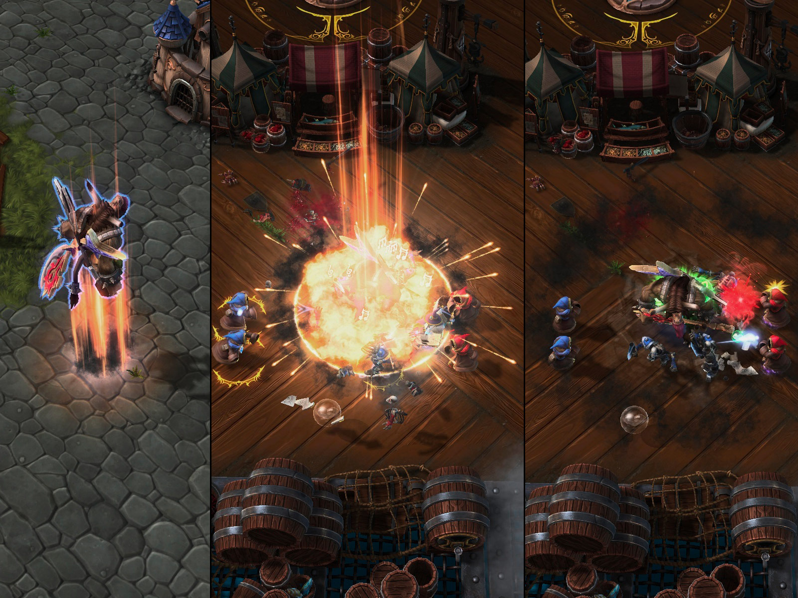 Heroes Of The Storm: Universes Collide In First Gameplay Trailer And Screenshots #29620