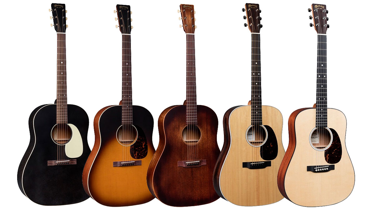 NAMM 2019: Martin updates Dreadnought Junior and Road Series, introduces new Slope Shoulder guitars