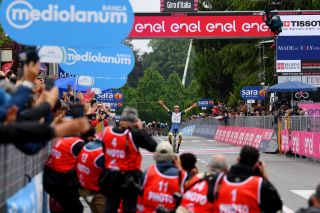Taco van der Hoorn (Intermarchè-Wanty Gobert) wins stage 3 at the 2021 Giro d'Italia