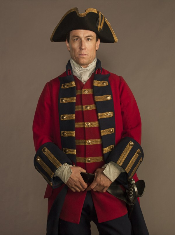Tobias Menzies plays Jack Black in Outlander (Amazon Prime Instant Video)