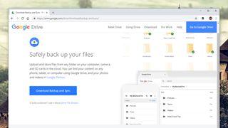 Google Drive backups