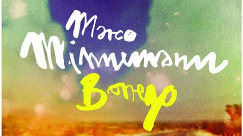 Marco Minnemann - Borrego album artwork