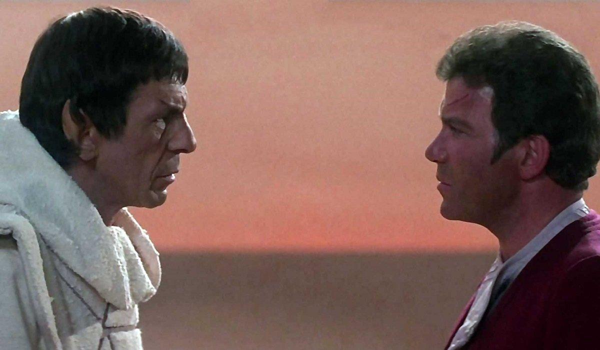 Spock and Kirk Star Trek