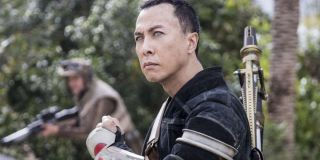 Donnie Yen as Chirrut Îmwe in Rogue One: A Star Wars Story