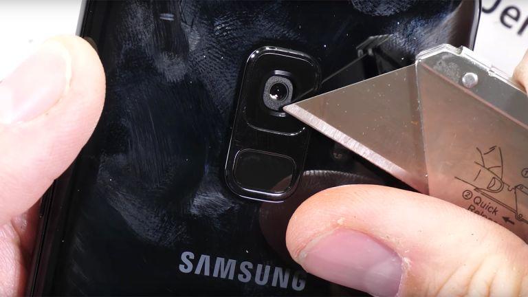 Samsung Galaxy S9 tough test