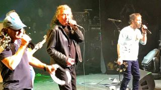 Brian Johnson, Robert Plant and Paul Rodgers