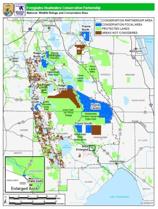 map of proposed everglades headwaters national wildlife refuge and conservation area