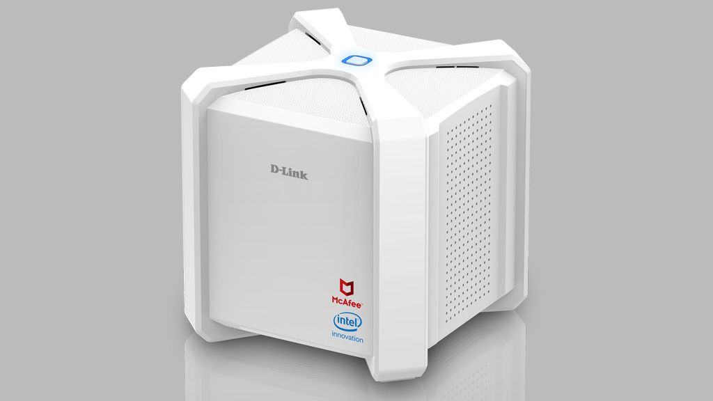 D-Link's D-Fend AC2600 router uses McAfee to protect your entire network