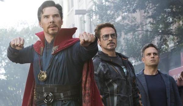 Doctor Strange, Iron Man and Hulk
