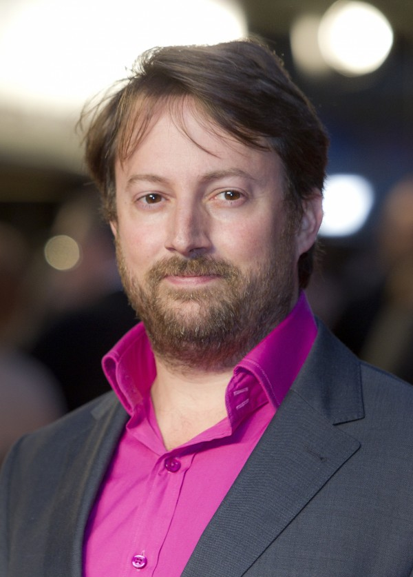 British actor David Mitchell arrives at at a cinema in west London, for the UK Premiere of 'The Debt,