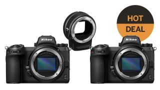 Save $200 on Nikon Z6 II or Z7 II with FTZ adapter!