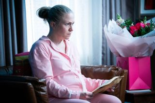 Linda Carter gets a surprise present from Max Branning in EastEnders