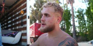 Jake Paul after boxing match screenshot 2020
