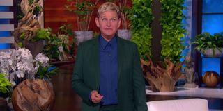 Ellen DeGeneres screenshot announcing her retirement