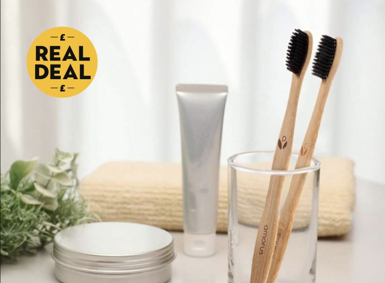 Family 10 Pack | BPA Free & Vegan Friendly |Bamboo Toothbrushes