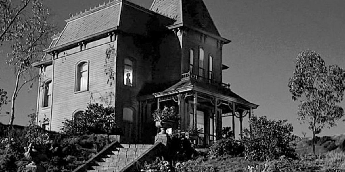 The Bates House in Psycho