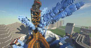 Apex Legends recreated in Minecraft