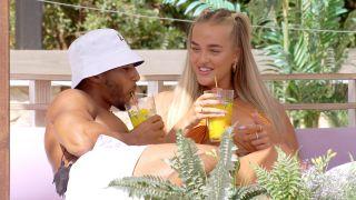 Love Island 2021 - Mary and Aaron flirt over brunch