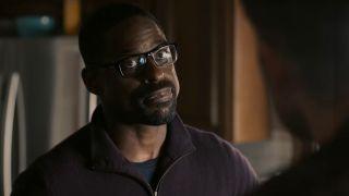 Sterling K. Brown as Randall Pearson smirking in This Is Us screenshot