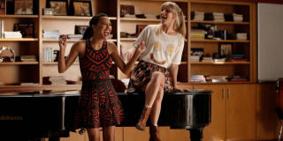 Glee Santana Lopez Naya Rivera Brittany Pierce Heather Morris FOX