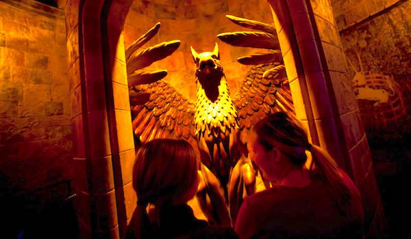 wizarding world harry potter and the forbidden journey ride universal studios