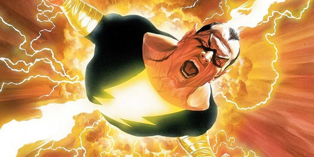 Black Adam Will Introduce An Iconic DC Comics Superhero Team, According To Dwayne Johnson