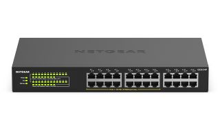 Netgear has released a line of high-power Unmanaged Gigabit Ethernet 24-port PoE+ Switches with the company's PoE Power Auto-Balance and Allocation technology.