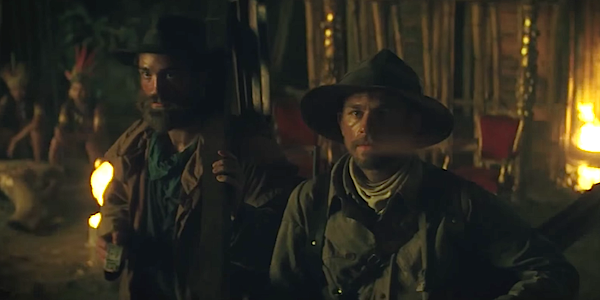 Lost City of Z Robert Pattinson and Charlie Hunnam