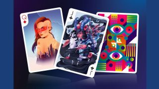 Design playing cards: Playing arts