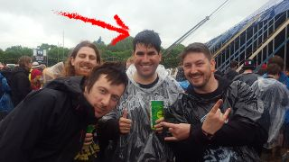 Richard Burgon MP at Download Festival this year