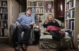 Giles and Mary on Gogglebox.