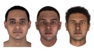 Forensic reconstruction of the mummies JK2911, JK2134 and JK2888.