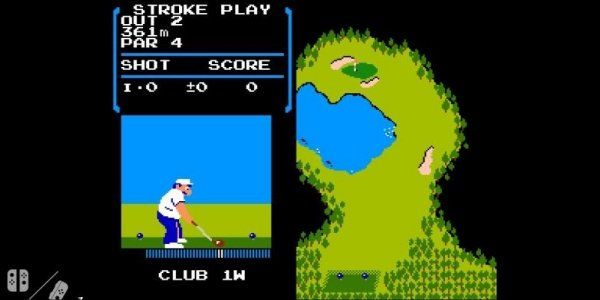 NES Golf Removed From Switch
