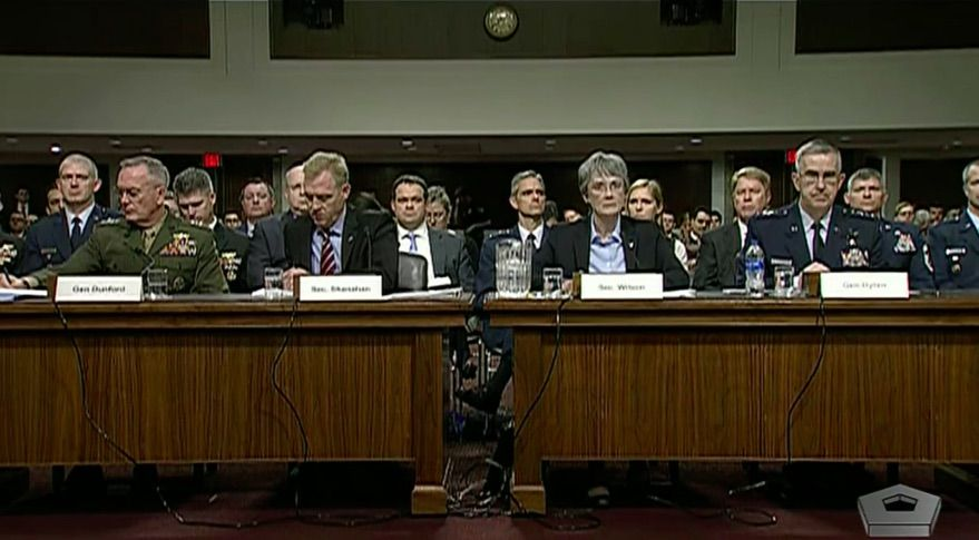 Defense Officials Get a Grilling at Space Force Hearing