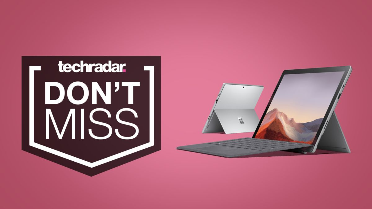 Don T Miss These 400 Off Cyber Monday Surface Pro 7 Deals With Included Type Cover Techradar