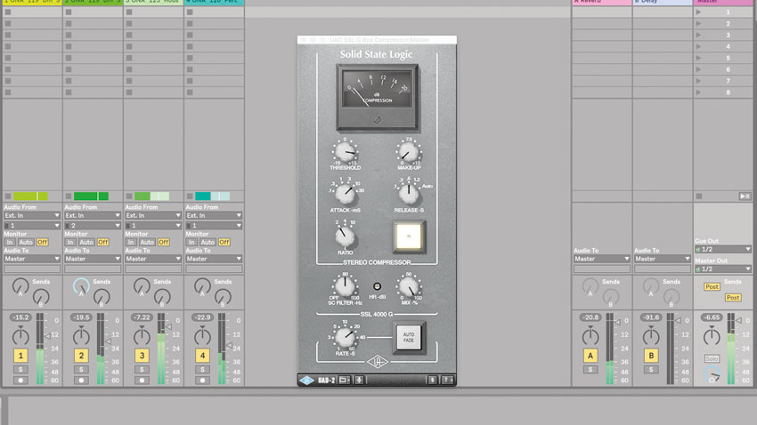 How to mix into a mastering chain