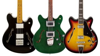 Short-scale, semi-hollow bass round-up