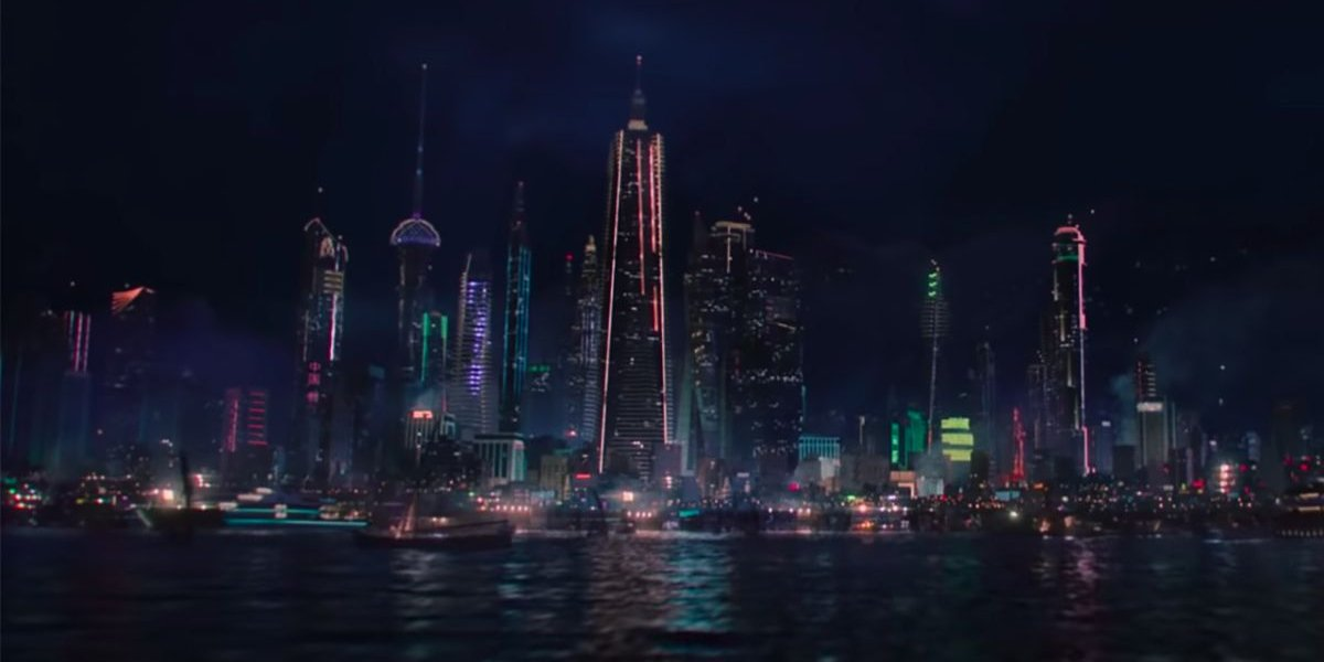 A shot of Madripoor from the Falcon and the Winter Soldier trailer