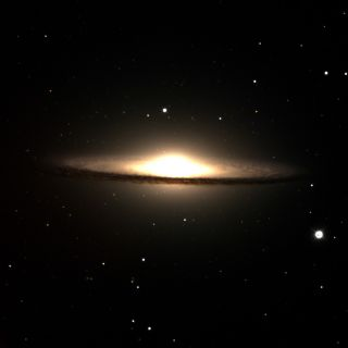 M104 - The Sombrero Galaxy, Discovery Channel Telescope First Light Image