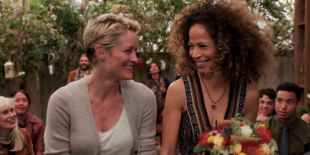 Stef and Lena Foster  in The Fosters