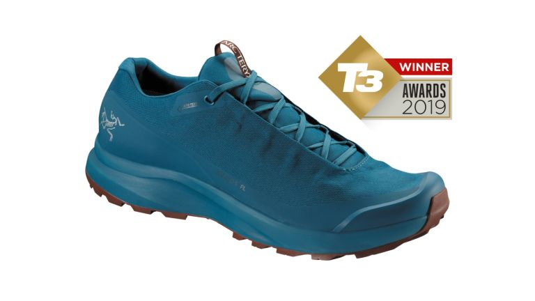 T3 Awards 2019 the Arc'teryx Aerios FL GTX Shoe wins our top Walking Shoes Award