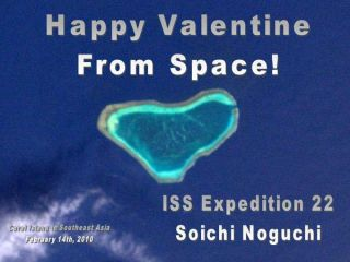 From Space, With Love: Astronauts Send Earth Cosmic Valentine