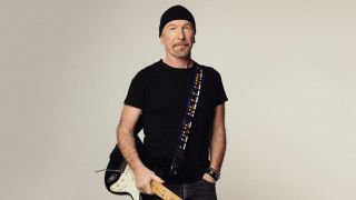 The Edge Love Welcomes guitar strap