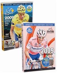 Tour de France and Giro d'Italia 2009 DVDs