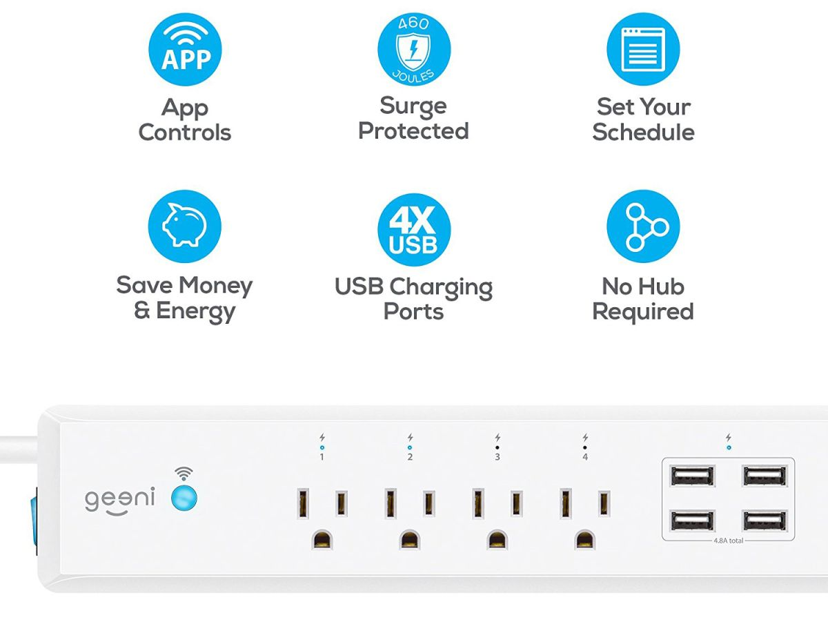 Geeni Surge Review: A Smart Surge Protector | Tom's Guide