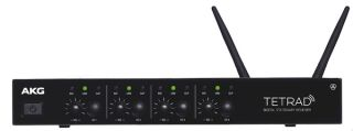 Harman's AKG Unveils DMSTetrad Digital Wireless Microphone System