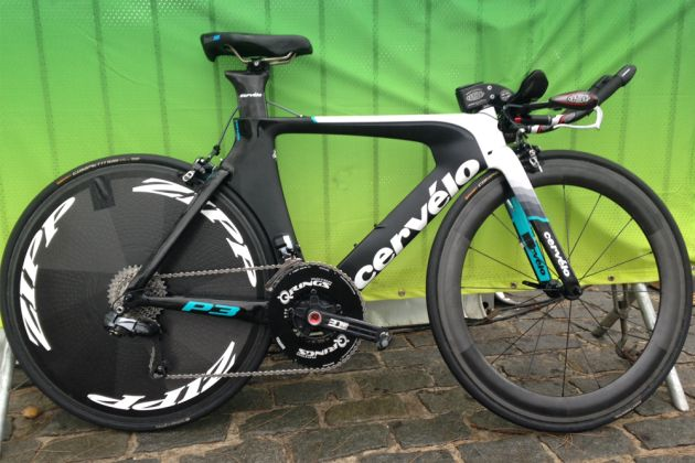 Pro Bike Emma Pooley S Cervelo P3 Time Trial Bike With