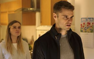 Casaulty star Chelsea Halfpenny: Secrets are revealed about Alicia and Eddie's evening