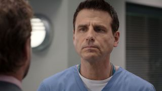 David is overcome with worry when he gets bad news about his son