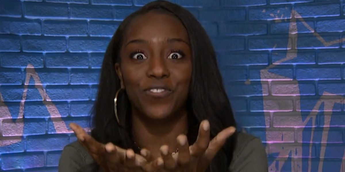 Da'Vonne Rogers Big Brother All-Stars CBS screenshot
